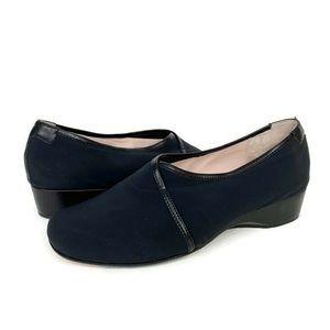 Taryn Rose Kelsey Slip on Comfort Flats Loafers
